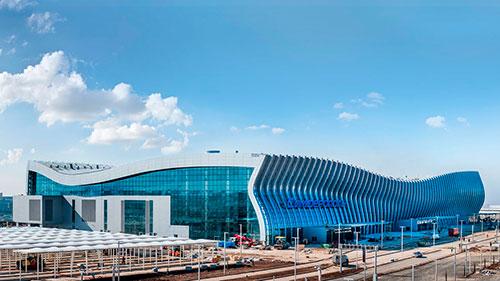 Постройка аэропорта в Симферополе