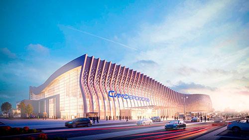 Наш металл в строительстве аэропорта