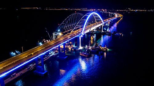 Наш металл при строительстве Крымского Моста